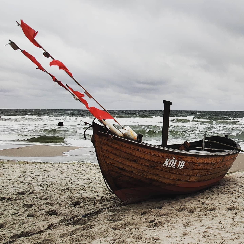 #instagram: Stubbenfelde #usedomWenn es windig ist, ist es am schönsten am Strand